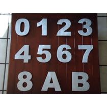 Número Residencial De Aluminio Modelo Bolk20