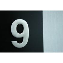 Numeros Acero Inoxidable Para Casa Residencia Oficina Rm4