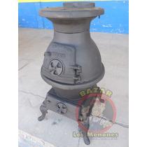 Calentón De Leña De Fierro Fundido / Calentador / Calefactor