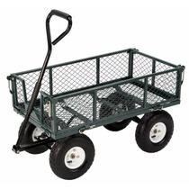 Carro Remolque Plegable Carga Farm & Ranch Jardinería 400lb