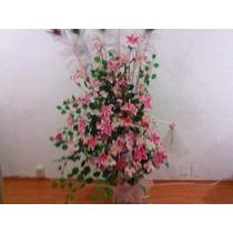 Se Vende Hermoso Arreglo Floral Artificial Con Base De Garza