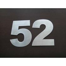 Números Residenciales Acero Inoxidable, Para Casa, Negocio