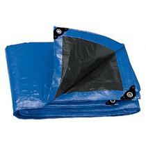 Lona De Uso Rudo Reforzada Azul 4 X 5 Metros Truper 15372