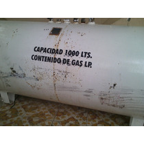 Tanque Estacionario De Gas 1000 Lts