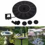 Fuente De Agua Con Panel Solar Ankway Con Bomba Para Jardin