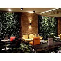 Muro Verde Enredadera Artificial Para Malla Sp0