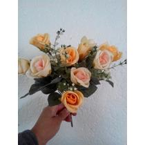 Ramos De Mini Rosas Artificial