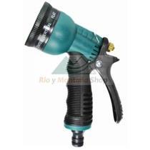 Pistola Rociador Para Manguera Agua Jardinería 7 Modos