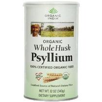 Orgánica De La India Entera Psyllium Husk 12 Onzas