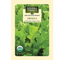 Semillas Del Cambio Orgánico Certificado Rúcula - 1,2 Gramos