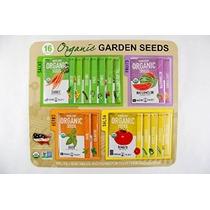 Certificado Orgánico De La Herencia No-gmo Jardín Semillas -