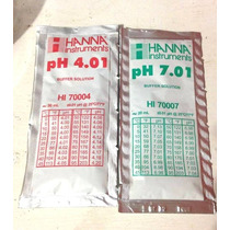 Solución Buffer Calibración Ph 7.01 Y 4.01 Hanna Instruments