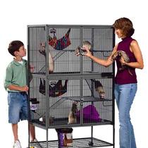 Jaula Para Animales Mascotas Roedores Multinivel Hm4