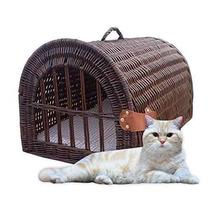 Bolsa Para Gato Inicio Bazar De Mimbre Para Mascotas Casa /
