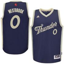 Jersey Adidas Russellwestbrook Oklahoma Thunder Christmasday