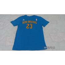 Playera Algodon Adidas Nba Pelicans New Orleans