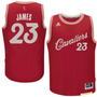 Jersey Adidas Lebron James Cleveland Cavaliers Christmasday