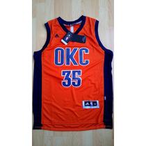 Kevin Durant 35 Okc Thunder Nba Naranja - Medium