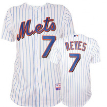 Jersey Jose Reyes #7 Mets De Nueva York 100 % Original