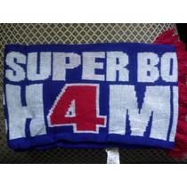 Bufanda Nfl Gigantes De New York **super Bowl** De Colección
