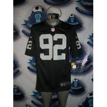 Jersey Oficial Nike Nfl De Raiders De Oakland Seymour-92