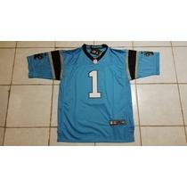 Carolina Panthers Cam Newton Jersey Nike Bordado Talla M Azu