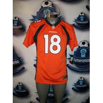 Jersey Oficial Nike Nfl De Los Broncos De Denver Manning-18