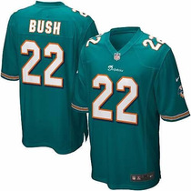 Jersey Miami Dolphins #22 Reggie Bush 2012 Nike Nfl On Field
