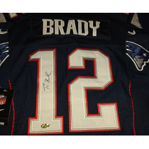 Jersey Autografiado Tom Brady New England Patriots Patriotas