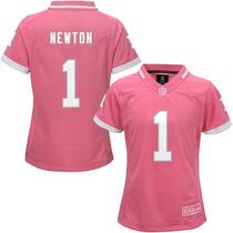 Jersey Nfl Infantil Para Niña Carolina Panthers Cam Newton