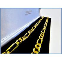 Cadena Oro Amarillo Solido 14k Mod. Cartier 7mm 44grs Acc