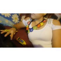 Collar De Chaquira Arte Hichol Wicori Art Floresitas