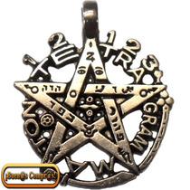 Pentagrama Esotérico, Hecho En 7 Metales.