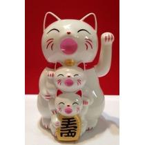 Gato Japonés De La Suerte Maneki Neko