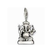 Dije- Buda Indu-elefante- Plata.925- Flete Gratis