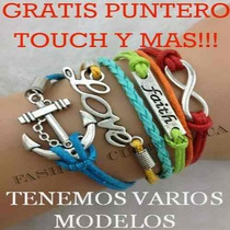 Pulseras De Moda, Amor, Bolsas, Iphone, Cosmetico,vitage Rm4
