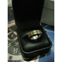 Anillo Bvlgari Oro Amarillo Gold Filled Blanco