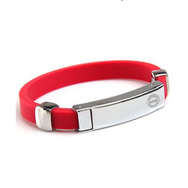 Pulsera No Problem Ion Balance 2000 Ace. Inox. Y Silicon
