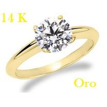 Bello Anillo De Compromiso En Oro 14k Con Envio Gratis
