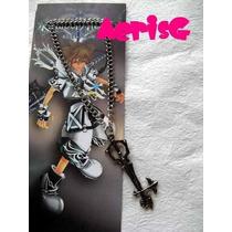 Arg Kingdom Hearts Collar De Keyblade Sora Blanca Anime Au1