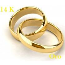 Preciosas Argollas De Matrimonio De Oro 14k Envio Gratis