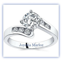 Anillo Oro 10kt Con Diamante Ruso Envio Gratis