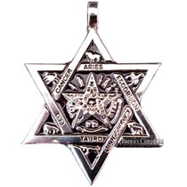 Dije Pentagrama Zodiacal