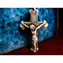 Collar Y Dije-cruz-cristo-crucifijo-flete Gratis