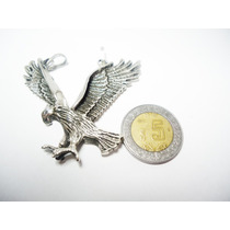 Dije De Aguila 3d Cuerpo Entero Plata.ley 925,toledo Maa
