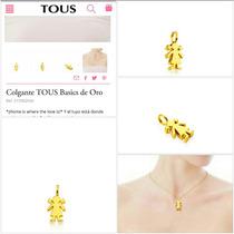 Colgante Tous Oro Colecc Niña Ch 100% Tous 100% Oro 18k Tous