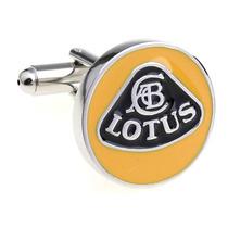 Mancuernillas Lotus Logo Automovil Acero Gemelos Camisa