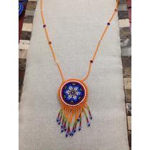 Collar De Chaquira, Artesania Huichol