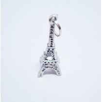 Dije Torre Eiffel Paris Hecho Deplata Ley.925 El Relicario
