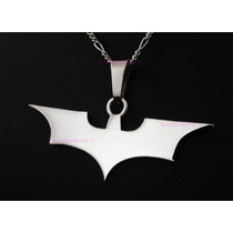 Dije De Batman The Dark Knight Grande En Plata Ley 0.925